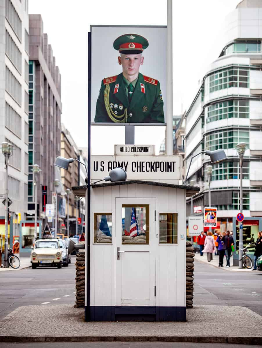Checkpoint Charly in Berlin