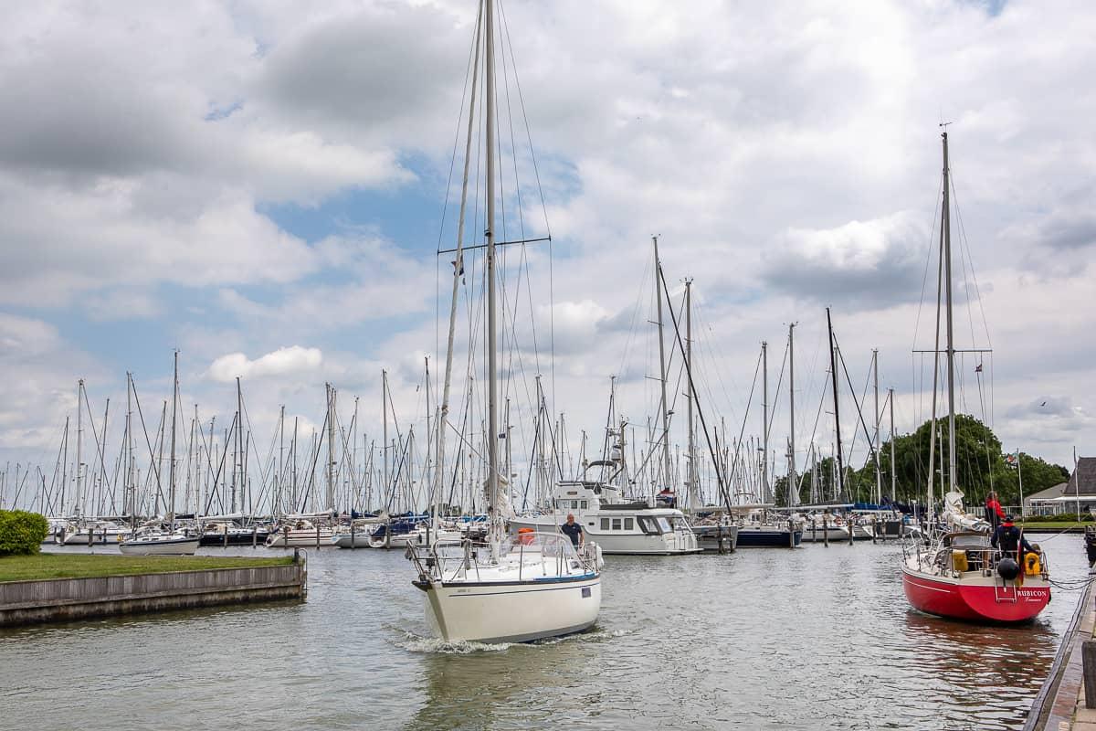 Hafen von Hindeloopen