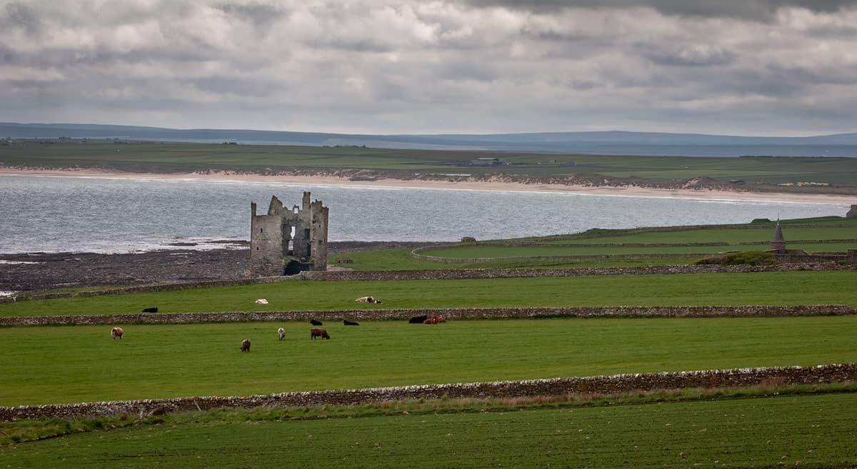 Landschaft in der Grafschaft Caitness bei John o'Groats