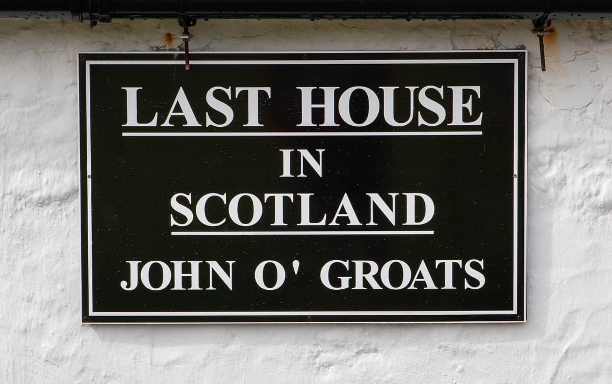 Haus in John O'Groats