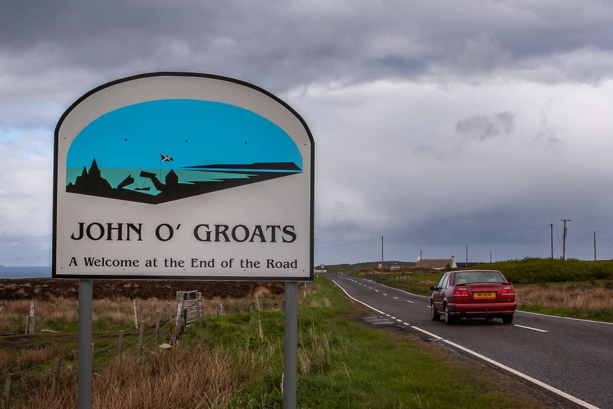 bei John o'Groats
