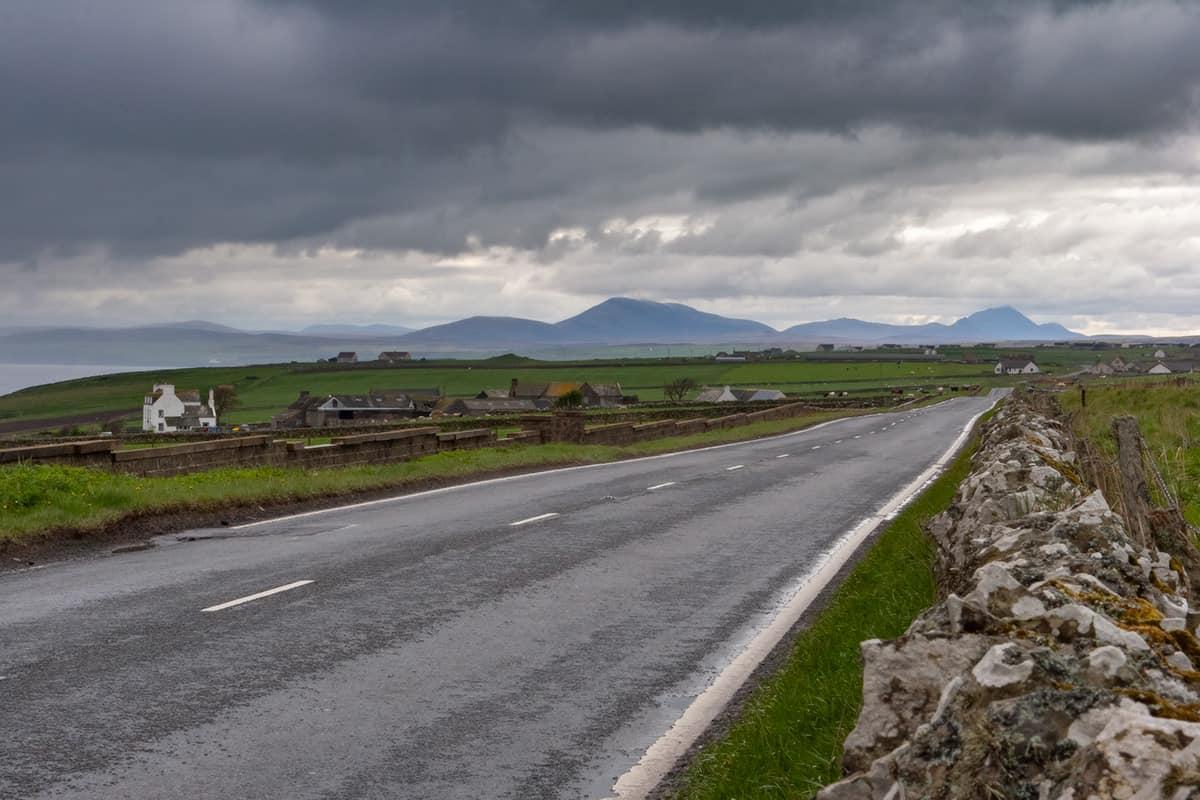 Landschaft in der Grafschaft Caitness by John o'Groats