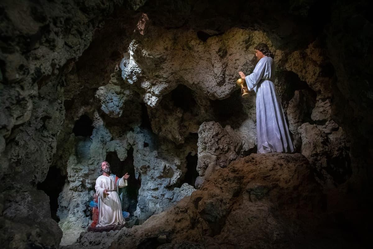 Grotte im Garten gegenüber des Missionshauses