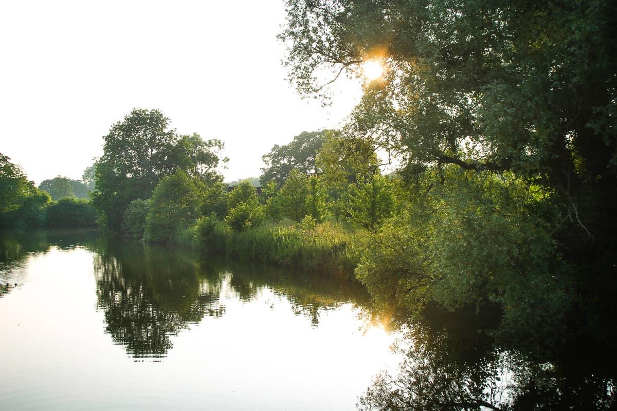 Park von Schloss Westerwinkel