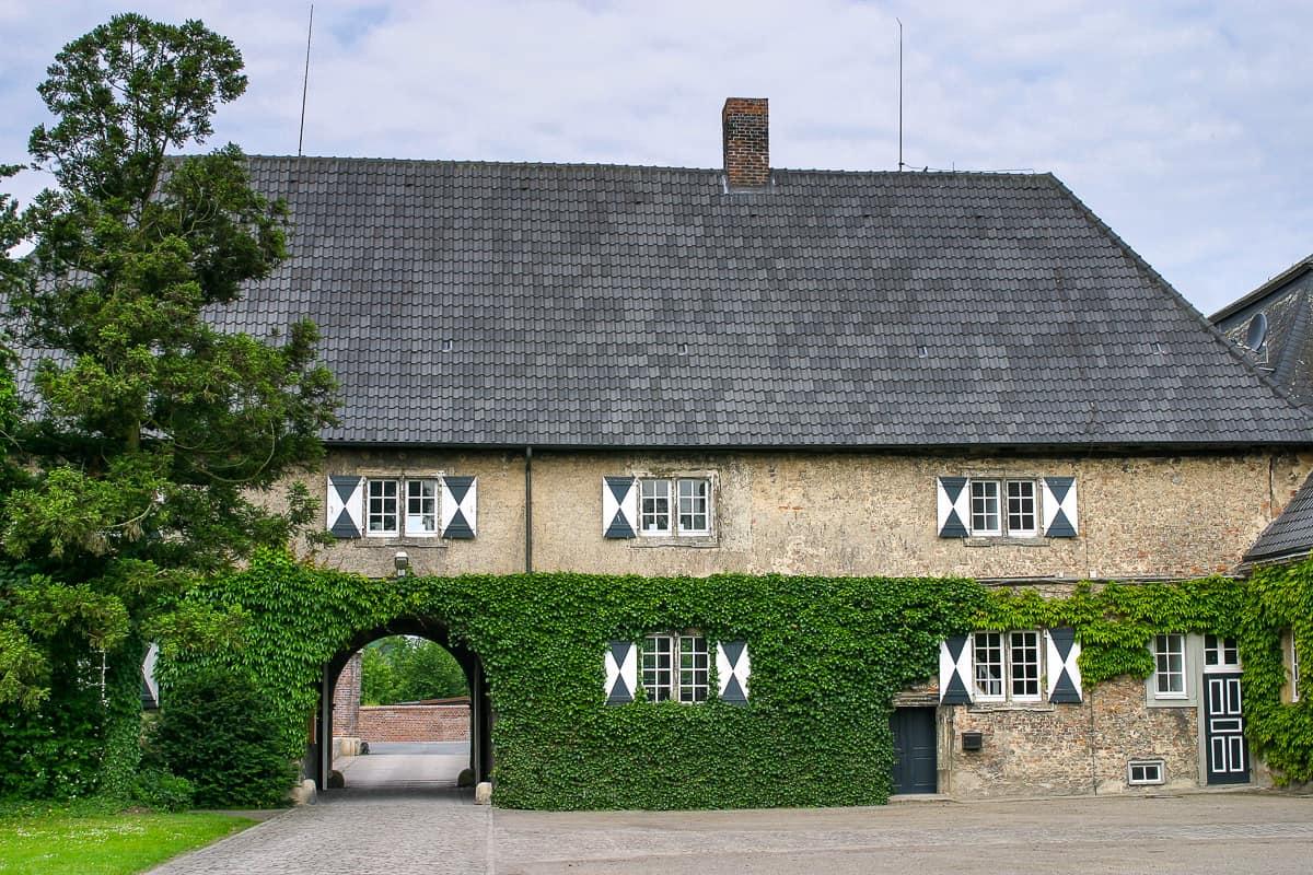 Nebengebäude von Schloss Westerwinkel