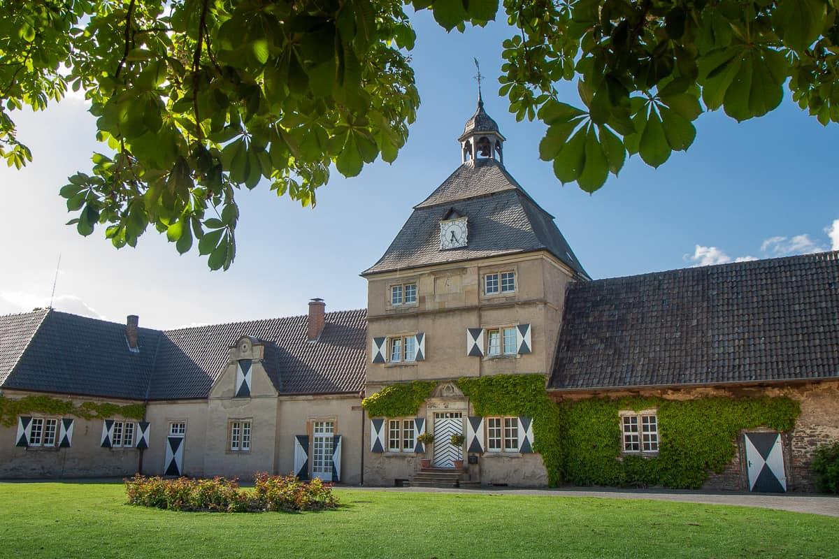 Nebenhebäude von Schloss Westerwinkel