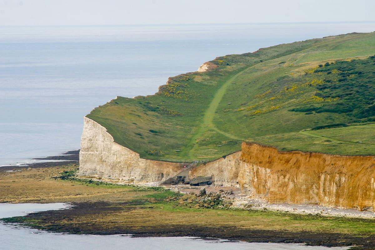 Kreidefelsen der Seven Sisters am Beachy Head
