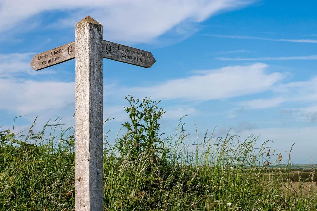 An der Südküste von Pembrokeshire